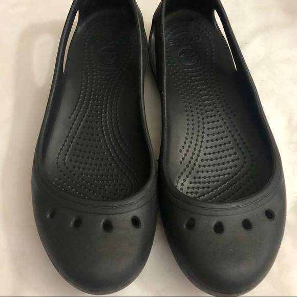 451375102cd CROCS Shoes - Crocs Kadee Black Ballet Flats Women s Size 8